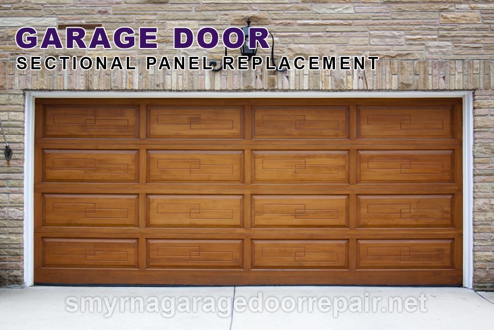 Sectional Garage Door Panel Replacement : Smyrna garage door repair emergency service